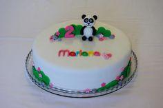 Menina Framboesa: Panda cake for girl