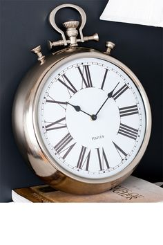 Pocket Watch Wall Clock:  My grandparents had one of these, and I want one.