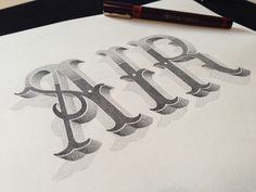 Typeverything.com AIR - Hand lettering by Xavier...