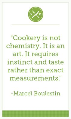 """""""Cookery is not chemistry.  It is an art. It requires instinct and taste rather than exact measurements."""" -- Top on a little extra Las Palmas sauce for more flavor #cooking #taste #flavor laspalmassauces.com"""
