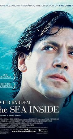 Directed by Alejandro Amenábar.  With Javier Bardem, Belén Rueda, Lola Dueñas, Mabel Rivera. The factual story of Spaniard Ramon Sampedro, who fought a thirty-year campaign in favor of euthanasia and his own right to die.