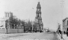 Hoddle St,Collingwood in Victoria in 1906.