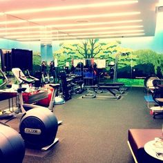 Huffington Post workout room