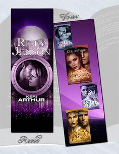 Riley Jenson L190 Keri Arthur, Ps, Books, Movie Posters, Collection, Livres, Libros, Book
