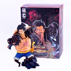 17.58$  Watch here - http://aliecd.shopchina.info/go.php?t=32671180676 -  XIESPT Anime One Piece Fourth gear Monkey D Luffy PVC Action Figure Collection Model Toys with box Free SHipping 17.58$ #buyininternet
