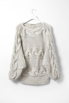 chunky sweater - perfect with skinny jeans & boots!