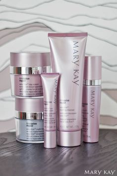 Go back in time. Lift away the years. Try the TimeWise Repair® Volu-Firm® Set to care for your skin in a whole new way! | Mary Kay www.marykay.com/bheringer