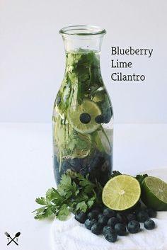 Blueberry lime cilantro
