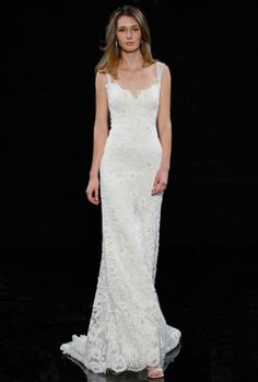 lace simple gown #gown