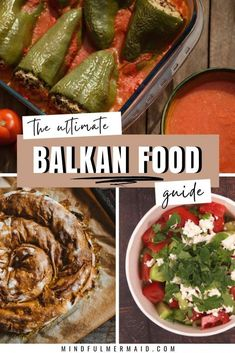 Balkan Foods: Cevapi, sarma, burek, shopka salad and much more inside this foodie guide to the Balkans! #balkanstravel #foodtravel #balkans #recipeideas