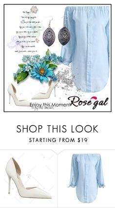"""""""Dress- Rosegal 43"""" by aazraa ❤ liked on Polyvore featuring vintage"""