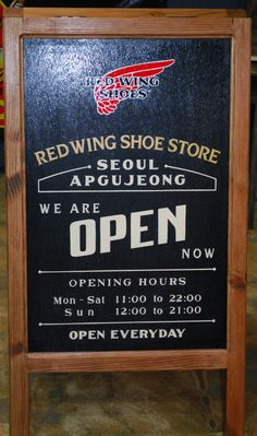 Red Wing A-Stand
