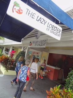 The Lazy Lobster on Longboat Key