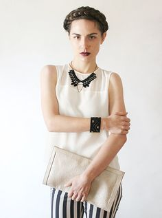 black lace collar necklace   HENRIETTE   modern collar necklace, tribal necklace, boho necklace, lace statement necklace, goth necklace