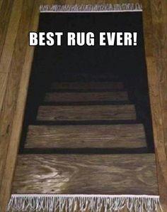 Steps rug