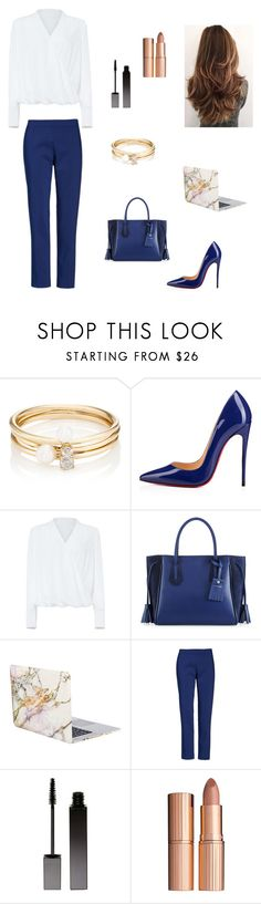 """BE ORIGINAL"" by vivianarizzello ❤ liked on Polyvore featuring Loren Stewart, Christian Louboutin, Damsel in a Dress, Longchamp, iHome, Chaus, Serge Lutens and Charlotte Tilbury"