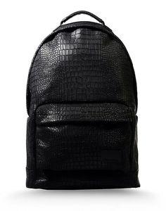 black snakeskin... Future diaper bag? ;)