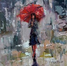 Rainy Day Stroll Gina Brown