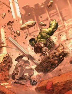 Planet Hulk by josé ladrönn