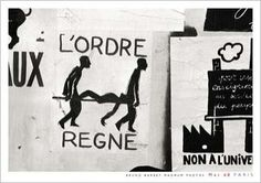 Postcards May '68 Posters in Paris, Bruno BARBEY - Nouvelles Images