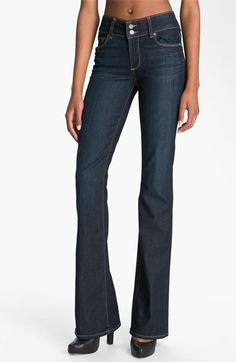 Paige Denim 'Hidden Hills' Bootcut Stretch Jeans (Stream) available at #Nordstrom best jeans i've ever owned.