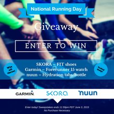 Skora is giving away shoes and a Garmin fitness tracker!