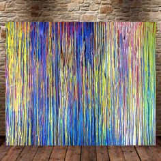 The Emotional Creation #36, FREE SHIPPING EUROPE 120 x 100 cm - 48 x 40 in - In-context view (home interior)