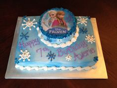 Disney Frozen Cake - Elsa and Anna