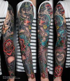 a Valerie Vargas gypsy tattoo