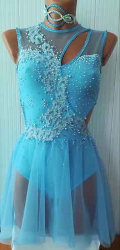 Modern Dance Costume, Cute Dance Costumes, Contemporary Dance Costumes, Dance Costumes Lyrical, Dance Outfits, Dance Dresses, Dance Uniforms, Figure Skating Outfits, Pullover Shirt