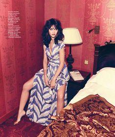 Ana Beatriz Barros in 70's glam for Harper's Bazaar Spain June 2014 | The Fashionography