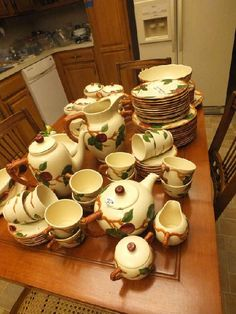 4 Franciscan Ware Desert Rose Plates 2 Lucheon Plates and 2 Salad ...