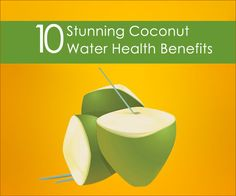 Coconut water health benefits are not widely known, yet coconut water is a favorite drink of many. Take a look here for 10 Coconut Water Health Benefits.