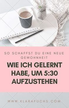 How to create new habits and get up at - Geniale Hacks Life Challenge, Challenge Accepted, Eco Slim, Crafts For Teens To Make, Mental Training, Getting Up Early, Work Life Balance, Get Up, Self Development