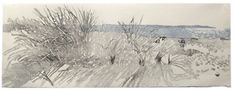 Eva Pietzcker - Baltic Sea, woodblock printed Japanese, 24 x 67 cm, 2009 - Truly beautiful and imagine the work in this, with it being woodblock and the different colours. Love her work. S.
