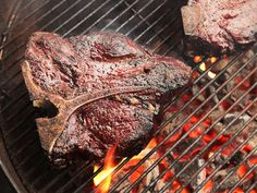 Slow-Smoked Porterhouse Steaks | Serious Eats : Recipes - will use electric smoker