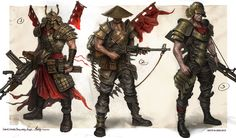 Concept art for an MMO Turn Based Strategy \'\'March of War\'\'  by ISOTXwww.isotx.xom