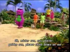 Barney Mister Sun Song Best Original HQ youtube.com/channel/UCPvfgvoMkBUjGujtU28il_g