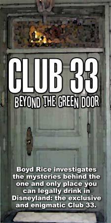 Visit Club 33 in Disneyland