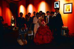 Ryusukeの結婚式。一人、着替えちゃってますが。