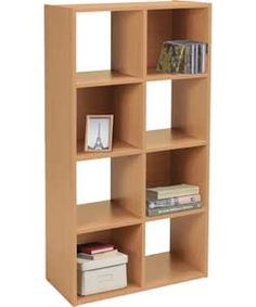 Buy unfinished solid pine 6 shelf unit at argos 30 home for Bedroom units argos