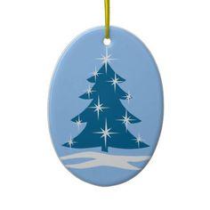 Blue Christmas Ornament Chrismas Tree Decoration
