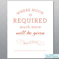 BitsyCreations: October 2014 LDS General Conference FREE Printables from BitsyCreations