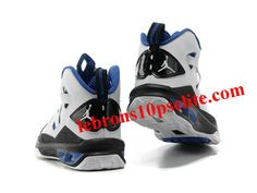 online store ef84f 93d9a Jordan Melo M9 Carmelo Anthony IX Shoes White Black Blue Cheap Nike Roshe,