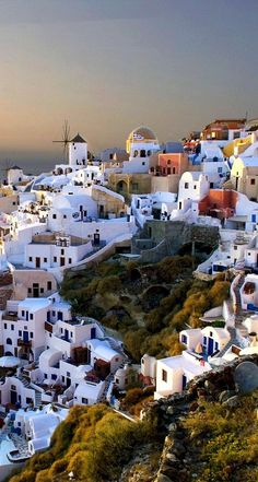 Village of Oia - Santorini, Greece