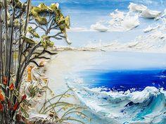 40x30 Seascape By: Justin Gaffrey