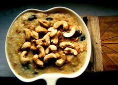 porridge with cashew nuts