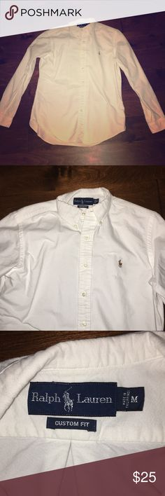 Men's Ralph Lauren Long Sleeve Button Up Great condition - no stains or tears. Ladies - great dress shirt for the man in your life! Polo by Ralph Lauren Shirts Casual Button Down Shirts