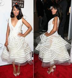 kerry washington white dress