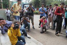 Marziya Shakir 5 Year Old Street Photographer At Mr Shreekanth Malushtes Photoshoot
